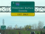 Still in New York, Buffalo, and the temptation of Canada