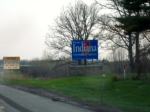 Fifth State boundary, for a very brief meander into Indiana