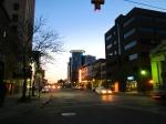 Downtown Kalamazoo - made it!