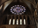 The Dean's Eye window, from Grosseteste's time in the Chapter at Lincoln