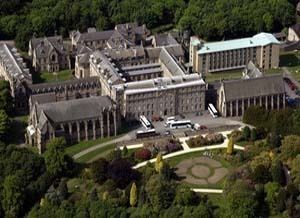 Ushaw College - just to the north-west of Durham