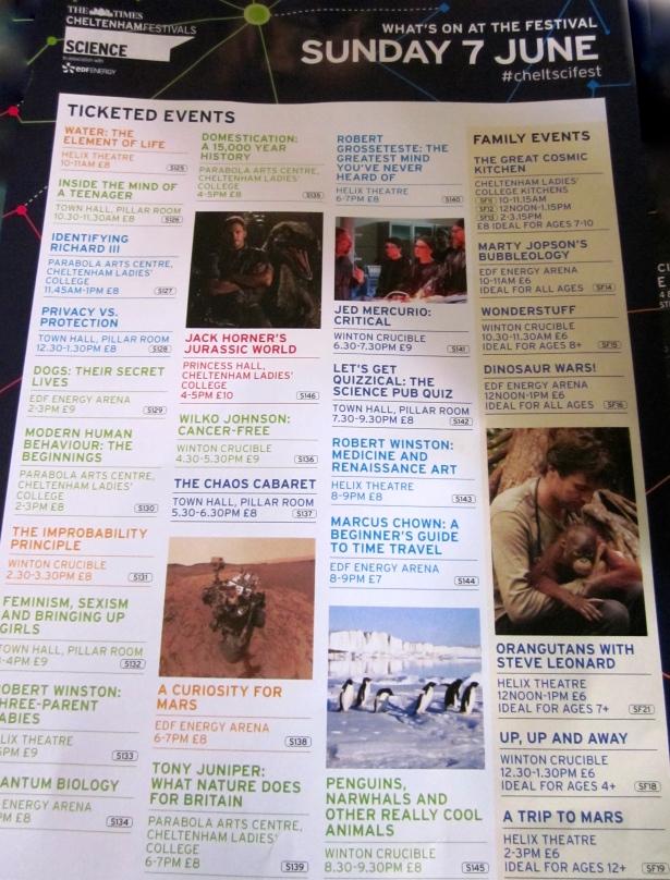 Sunday's Programme