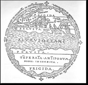 Macrobian map