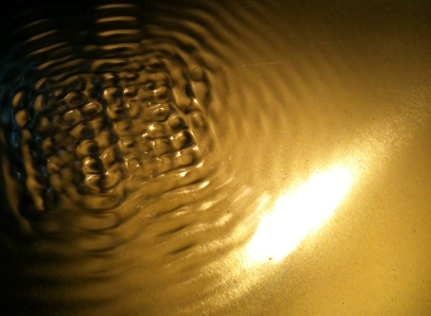 Gold cymatics