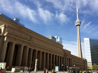 Union Station and CN Tower