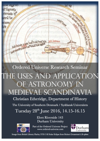 Astronomy in Scandinavia Poster