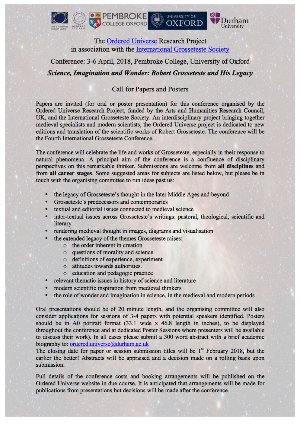Call for papers - OU Conference FINAL2