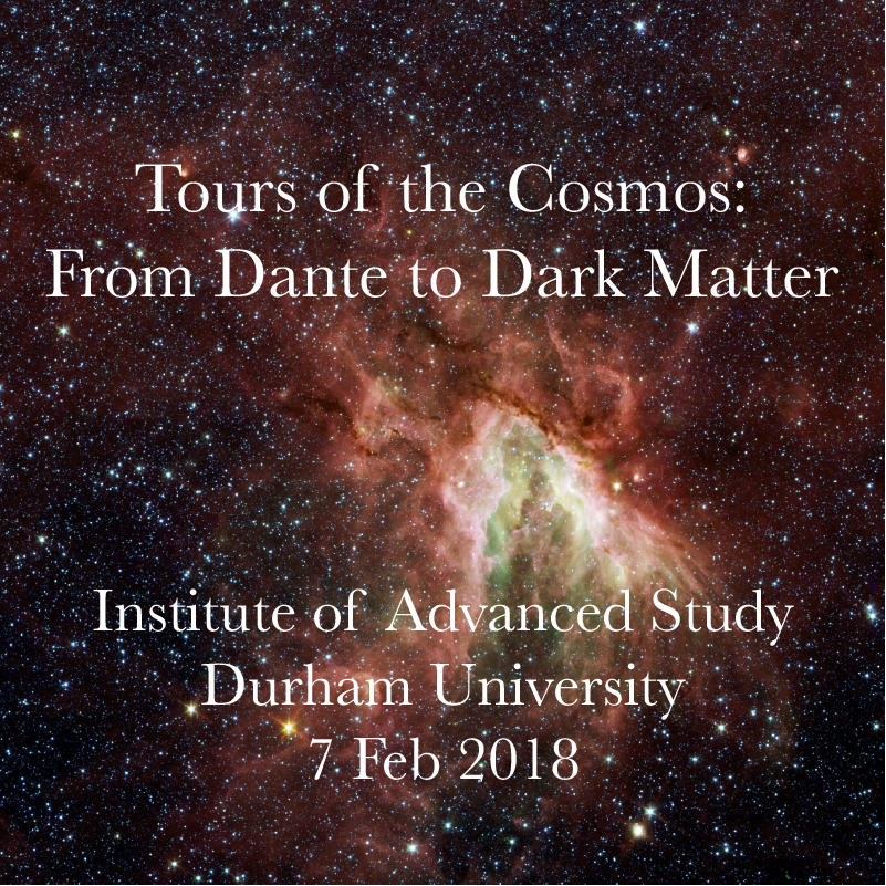 Tours of the Cosmos: From Dante to Dark Matter – Ordered