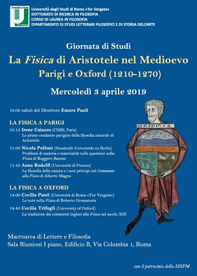 Locandina Fisica nel Medioevo